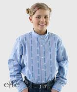 Edelweiss-Hemd für Kinder - hellblau