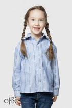 Edelweiss-Hemd für Kinder, COOL MAX - hellblau