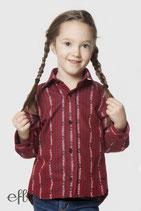 Edelweiss-Hemd für Kinder, COOL MAX - rot