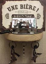 Porte lettre et clés