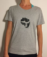T-Shirt Women Medium Grey