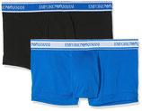 EMPORIO ARMANI Confezione Bipack Shorts Boxer da 2 COLORI ASSORTITI Uomo in Elegante Scatola