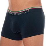 EMPORIO ARMANI Confezione 1 Boxer Shorts Parigamba Uomo Cotone Stretch con Scritta Logo in Elegante Scatola