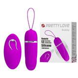 Pretty Love Debbie Ovulo Vibrante 12 Vibrazioni con Tecnologia Remote Control Wireless |6603BI0390|