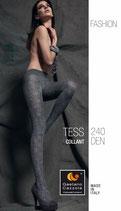 GAETANO CAZZOLA Collant Invernali FASHION Mod. TESS 240 DENARI Con Fantasia Traforata