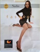 GAETANO CAZZOLA Collant FASHION Mod. NADIN 40 DENARI Fantasia a Rombi