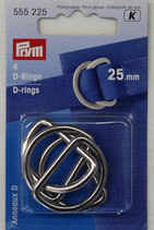 D-Ringe und Ringe verschiedene Größen