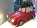 LED Auto mit Weihnachtsbaum