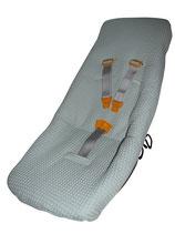 Ersatzbezug - weicher Piqué passend für Weber Babyschale