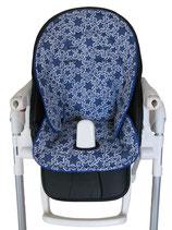 Sitzauflage Peg -Sterne blau