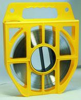 Plastikbox mit Stahlband V2A