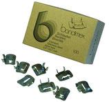 Bandimex Schlaufen für einfach oder doppelt geschlauftes Bandimex Band, V2A Edelstahl - Großpackung á 5 Pack