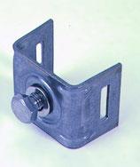 Bandimex Schilderhalter mit geraden Schenkeln  V2A Edelstahl