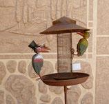 Vogelfutter Station