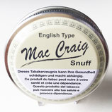 Snuff Mac Craig English Type 10gr