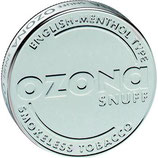 Snuff Ozona English Menthol Type 5gr