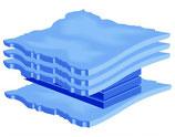 Skyline 4L  90% stabilisierte Softside Wassermatratze