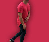 Polera Larga Fit  |  Red WaterMelon  | shirtEmpire