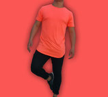 Polera Larga Fit  |  Orange Fluor  | shirtEmpire