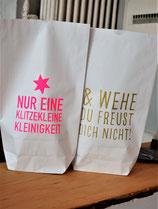 Paperbag klein - Geschenketüte