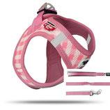 Welpenset Pink Caro Geschirr+Leine