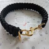 """Einfarbige Halsbänder """"Black Line"""" (Designbeispiel)"""