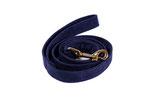 Leine Nachtblau (Filzvelour)