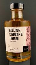 Tonic Sirup Basilikum, Rosmarin & Thymian 200ml