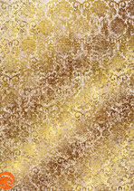 001 Papel dorado con oro