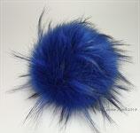 Racoon Blue ; Kunstfell Bommel für Mützen 100% vegan