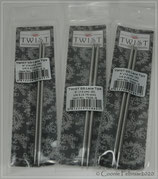 ChiaoGoo, auswechselbare Nadelspitzen 13cm, Twist Lace Edelstahl