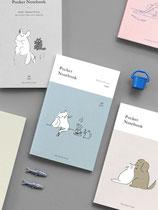 Kleine Notizbuch, Pocket notebook, Zeichnungsblock, miniplaner