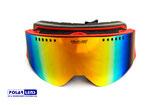 NEU : POLARLENS SERIES PG44 Skibrille / Snowboardbrille mit Regenbogen-Verspiegelung und Panorama Design
