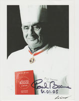 Autogramm Starkoch Paul Bocuse