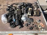Alfa Romeo collectie rubbers + plastic delen LOT #317
