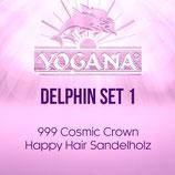 Delphin Set 1 Happy Hair Sandelholz