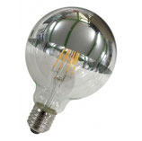 LED big bulb silver mirror 8 W