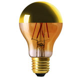 LED bulb gold mirror 6 W