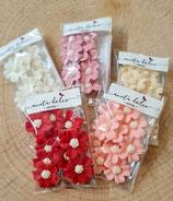 Blüten aus Zucker klein