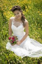 Brautkleid von Kleemeier Art. 12970  SALE