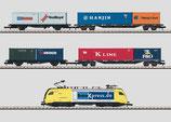 Märklin 81432 Container Zug mit Siemens Dispolok