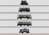 """Märklin 26834 Zugset mit dem """"Glaskasten"""" der Königlich Bayerischen Staatsbahn (K.Bay.Sts.B.)."""