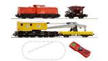 Roco 41363 Digital Starter Set Diesellokomotive BR 204 der DB AG mit einem Bauzug