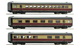 Roco 64119 3-teiliges Ergänzungsset zu 63098 BR VT 11.5, DB