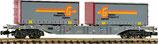 Fleischmann 825202 Container- und Wechselbehälter-Tragwagen