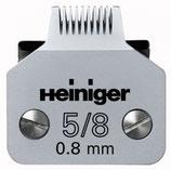 Scherkopf SAPHIR 5/8/0.8 mm Hund, Heiniger (BUSSE)