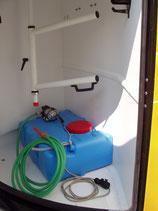 MOBILES Wassertank-Set für Pferdeanhänger