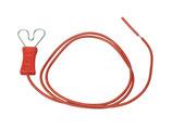 Zaunanschlusskabel m. Herzklemme ohne Stecker