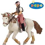 Junge Reiterin Fashion mit Wanderpony PAPO