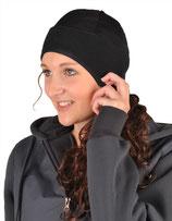 Kopfwärmer aus Fleece und Netzgewirke (HKM)